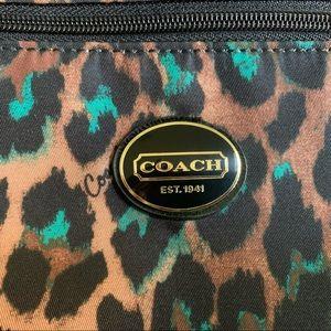 Coach Ocelot Leopard Print Crossbody Purse